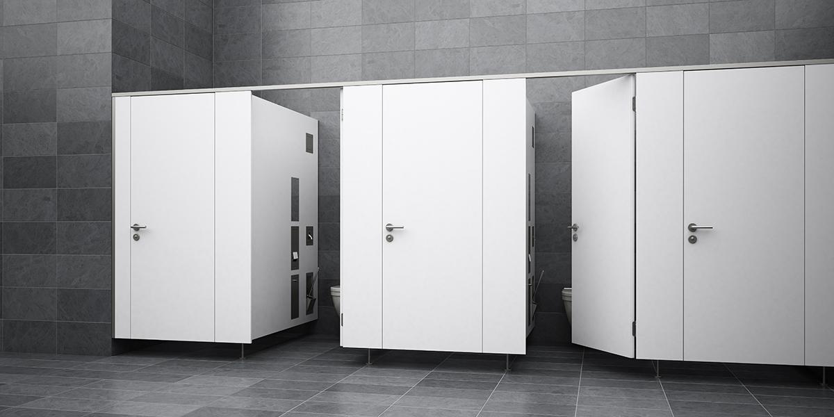 KEMMLIT Sanitäreinrichtungen: PRIMO | WC-Trennwand aus HPL ...