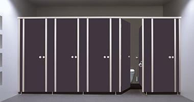 KEMMLIT Sanitäreinrichtungen: WC-Trennwandsysteme und WC-Kabinen